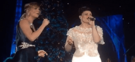 Frozen Let It Go Live Duet CMA Country Christmas Jennifer Nettles Idina Menzel