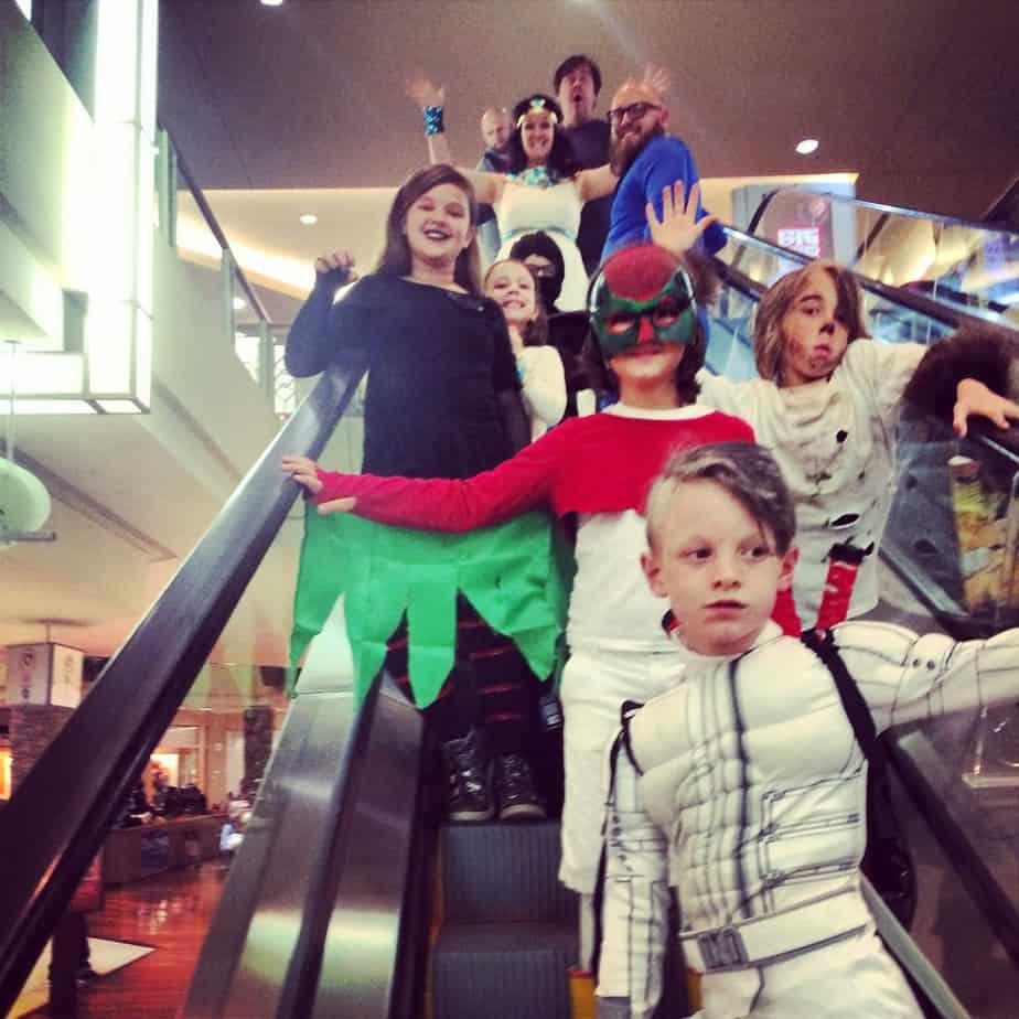 Halloween 2014 Cool Springs Galleria Trick or Treating