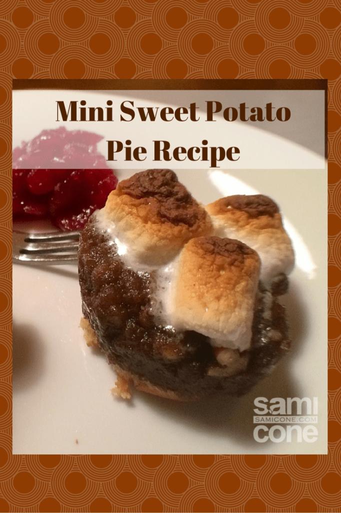 Mini Sweet PotatoPie Recipe