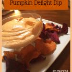 Pumpkin Delight Dip Recipe