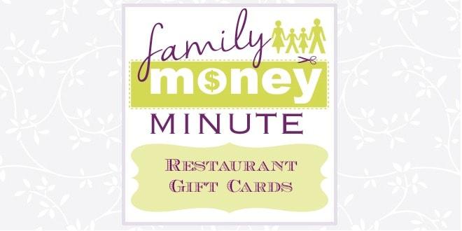 Restaurant Gift Cards