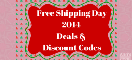 Free Shipping Day December Deals & Discount Codes 2014