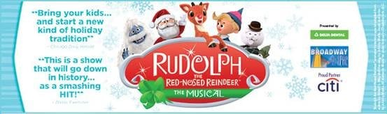 Rudolph the Red-Nosed Reindeer The Musical Ticket Giveaway