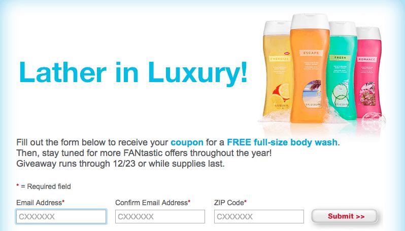 cvs Free body wash