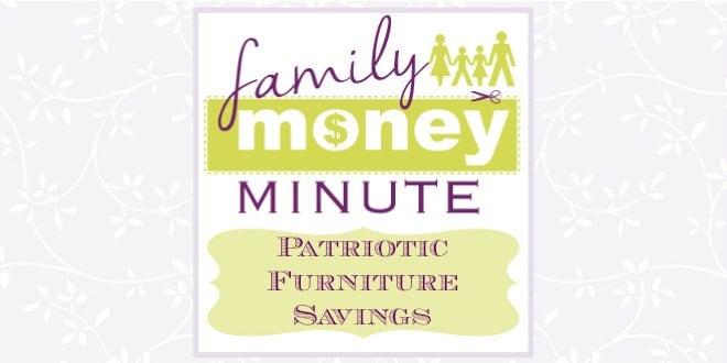 Patriotic Furniture Savings