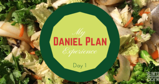 Daniel Plan Experience Day 1