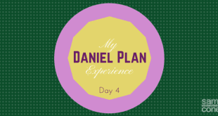 Daniel Plan experience day 5