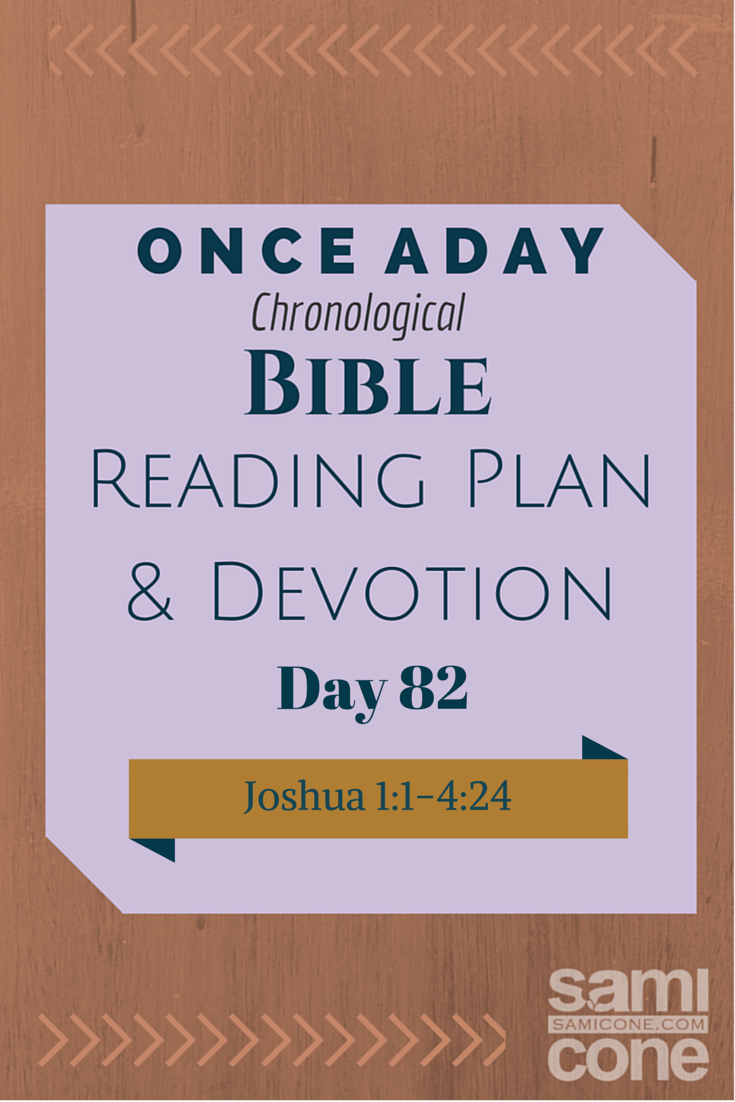 Once A Day Bible Reading Plan & Devotion Day 82