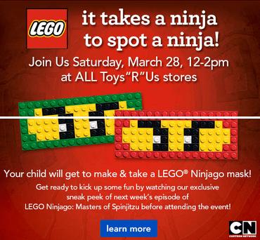 Toys R Us LEGO Ninjago Event