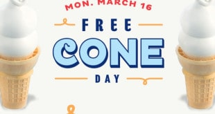 free cone day