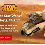 Free Toys R Us Lego Event- Starwars