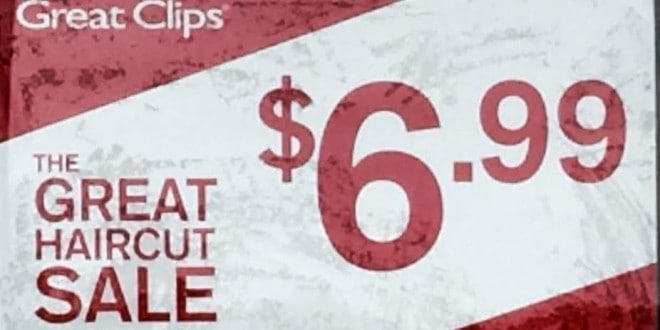 graphic relating to Printable Great Clips Coupons known as Best clips 6.99 haircut no coupon demanded : Campbell 16