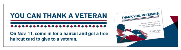 Great Clips $6.99 Haircut Sale