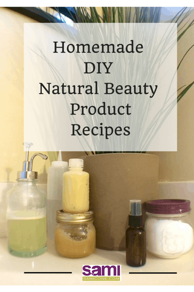 Homemade DIY Natural Beauty Product Recipes