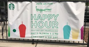 Happy Hour at Starbucks: Half Off Frappuccinos