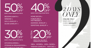 JCPenney Friends and Family Sale Dates 2015