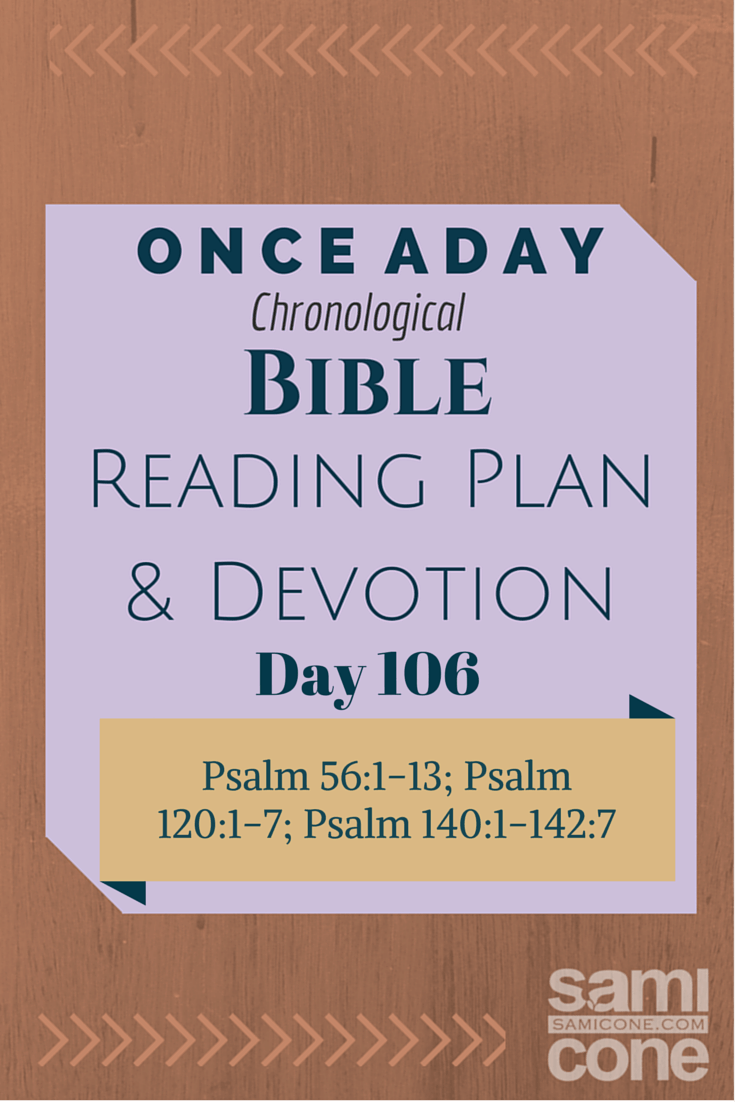 Once A Day Bible Reading Plan & Devotion Day 106