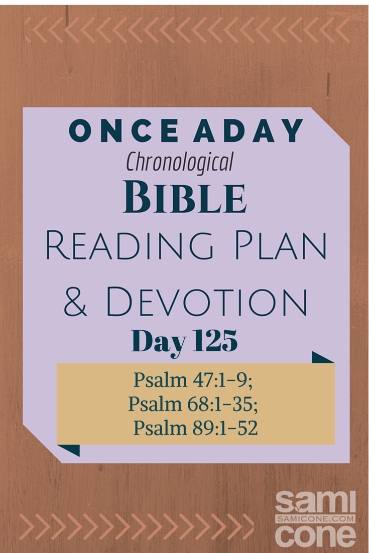 Once A Day Bible Reading Plan & Devotion Day 125