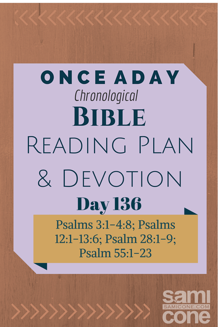 Once A Day Bible Reading Plan & Devotion Day 136