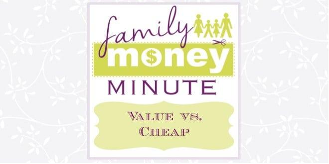 Value vs. Cheap