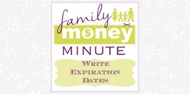 Write Expiration Dates