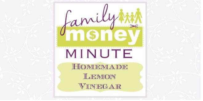Homemade Lemon Vinegar