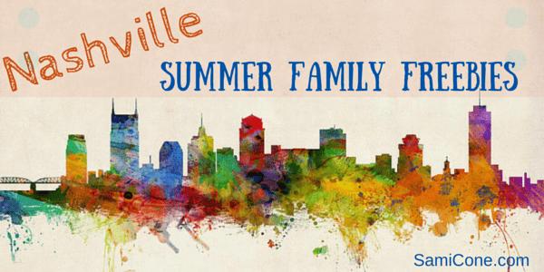Nashville Summer Family Free Activities
