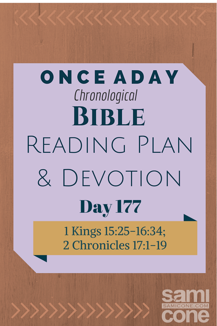 Once A Day Bible Reading Plan & Devotion Day 177