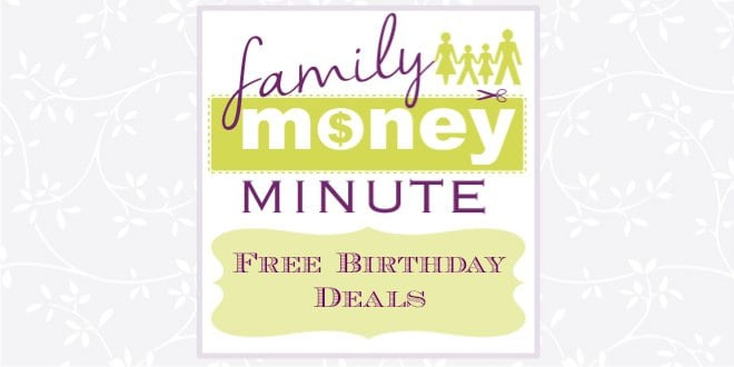 Free Birthday Deals