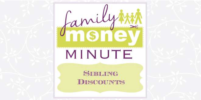 Sibling Discounts