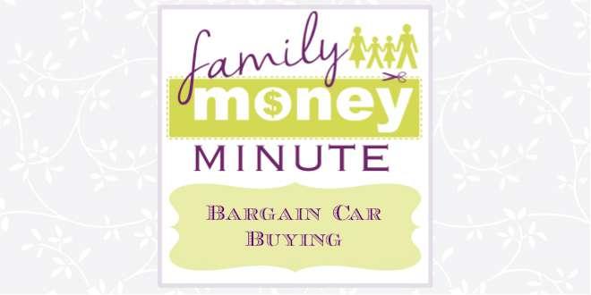 Bargain Car Buying