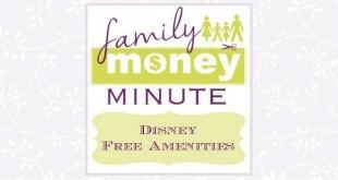 Disney Free Amenities