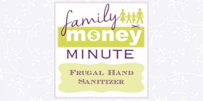 Frugal Hand Sanitizer