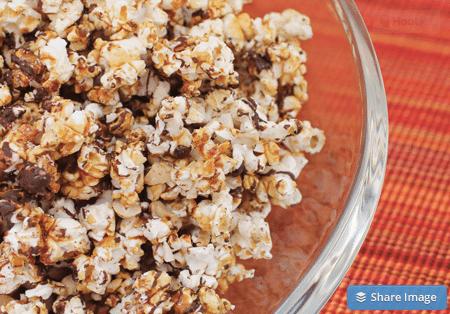 cashew caramel popcorn recipe