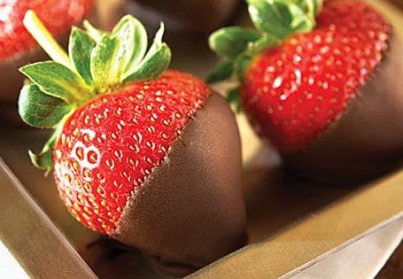 dark chocolate covered strawberries recipe