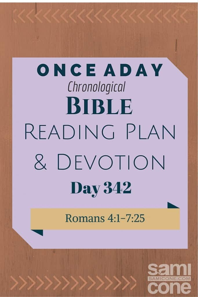 Once A Day Bible Reading Plan & Devotion Day 342