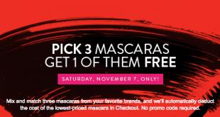 Nordstrom free mascara