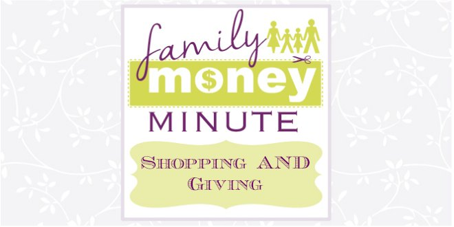 Shopping AND Giving