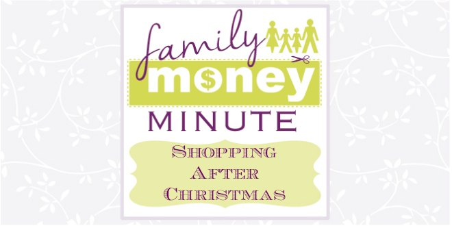 Shopping After Christmas