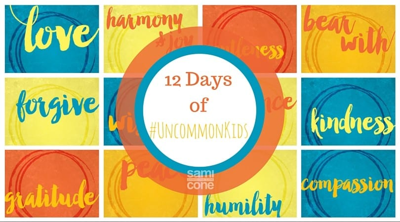 12 Days of uncommon kids day 1 love
