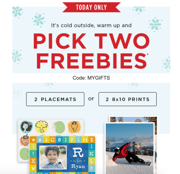 Free Shutterfly Photo Gifts! *Through WEDNESDAY Only*