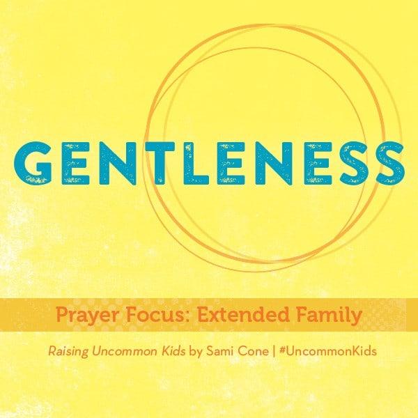 Gentleness Raising Uncommon Kids