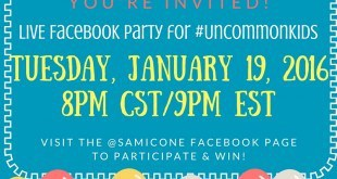 raising uncommon kids facebook party