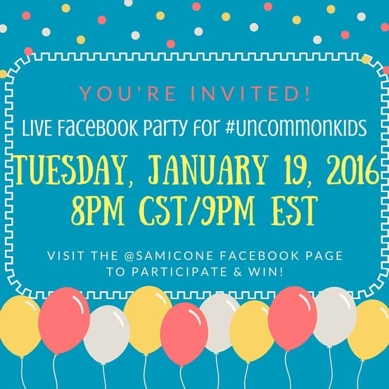 raising uncommon kids facebook party