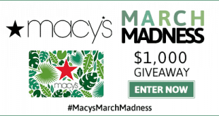 Macys Giveaway 20 Win a $50 Giftcard! #MacysMarchMadness