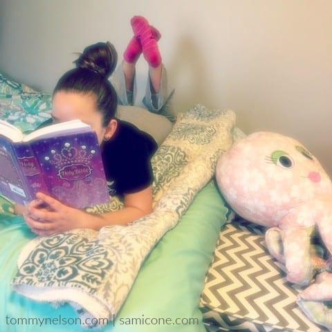 Purple Princess Bible