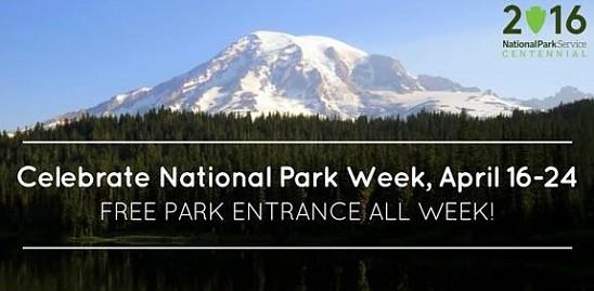 National Park Week Free Admission