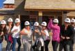 Dolly Parton's Lumberjack Adventure Blogger Hard Hats