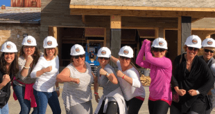 Dolly Parton's Lumberjack Adventure Blogger Hard Hats