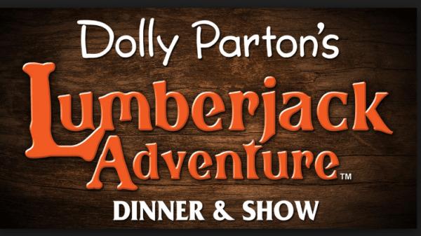 Dolly Parton's Lumberjack Adventure Grand Opening logo